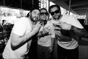 Swedish house mafia Bill Graham Civic Auditorium