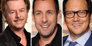 Adam Sandler, David Spade, Nick Swardson & Rob Schneider